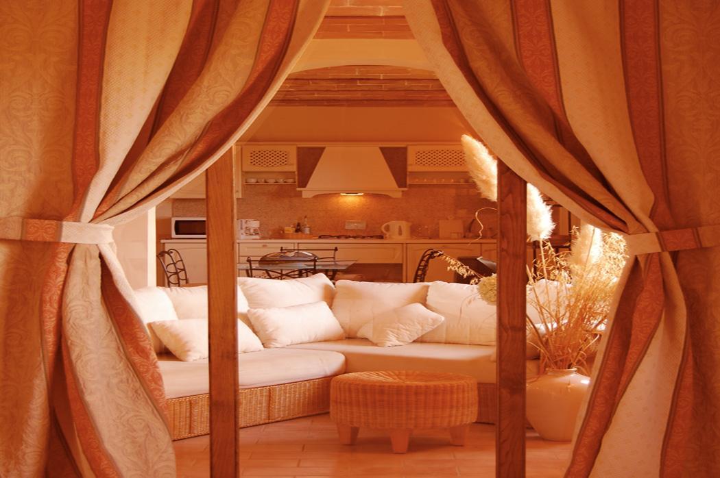 appartamento in villa toscana