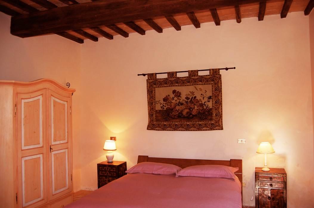 Tipica camera casale in toscana