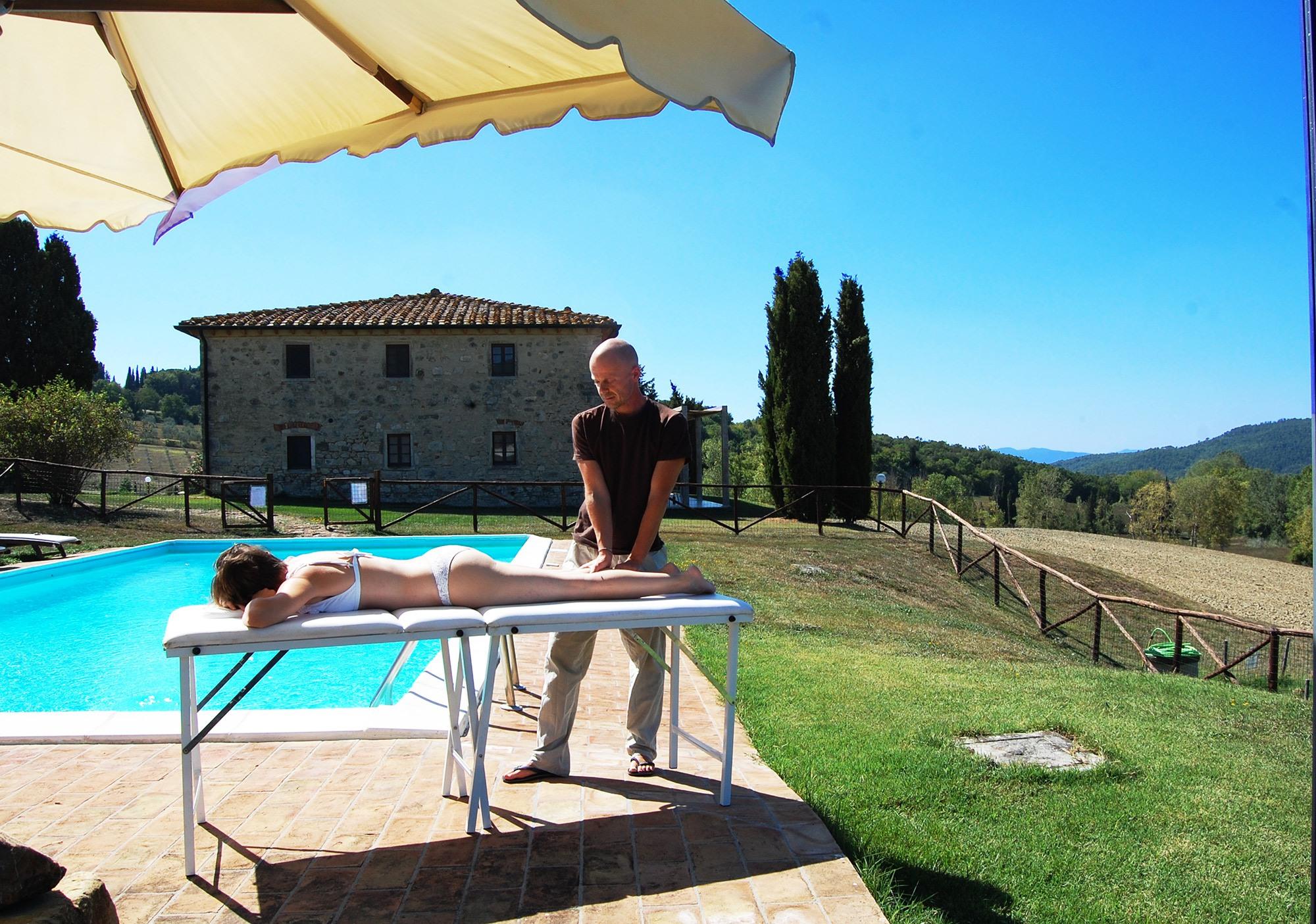 villa in toscana con massaggi