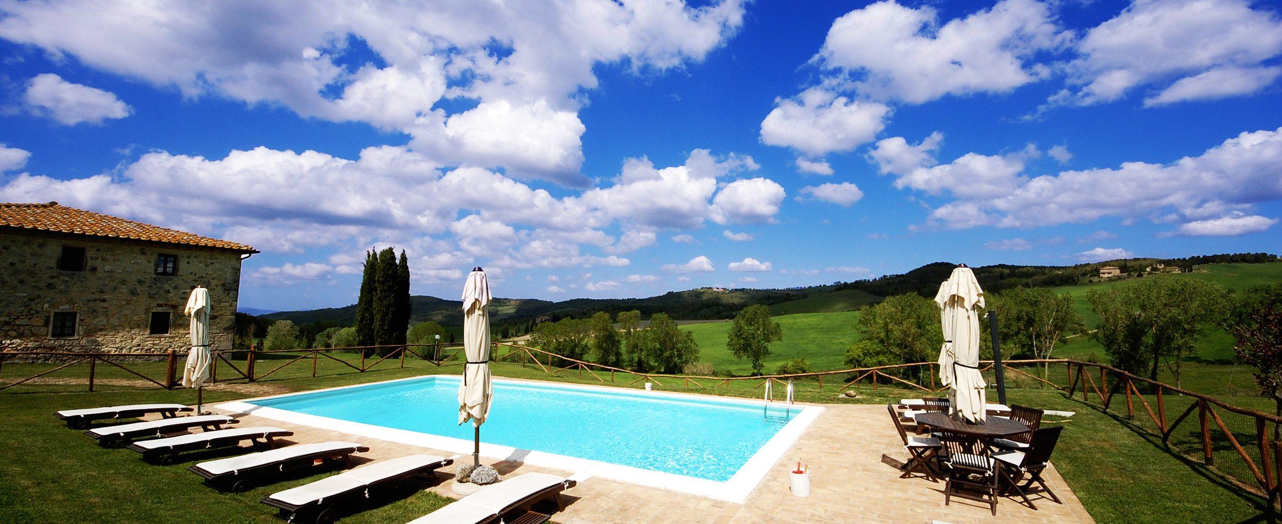 villa in toscana con piscina affitto