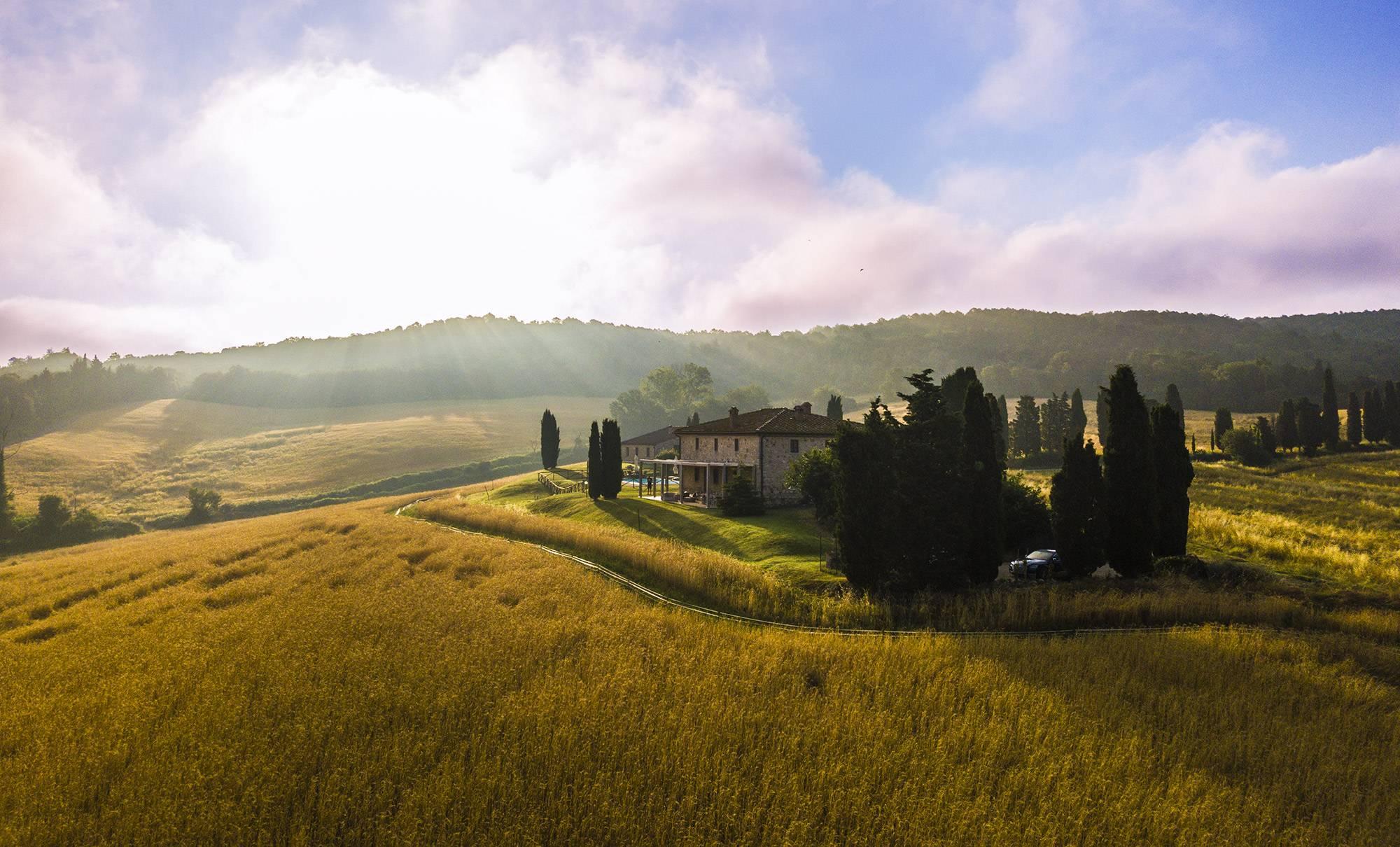 Casale in Toscana per trekking