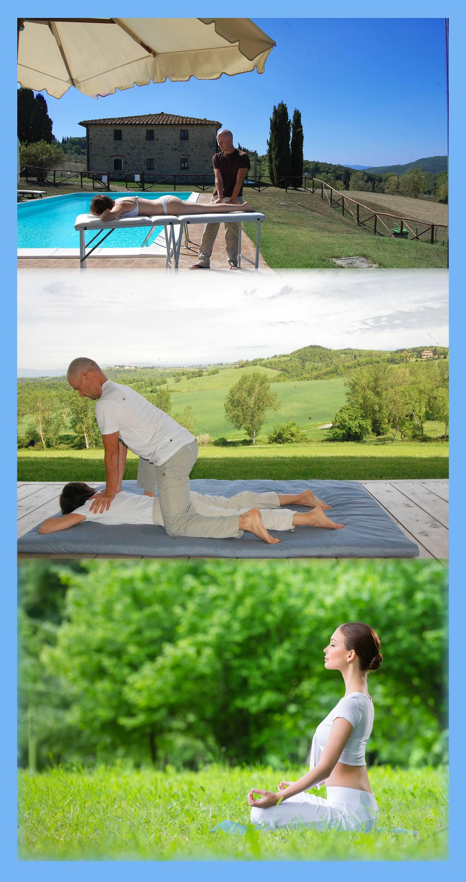 Addio al nubilato yoga, massaggi e meditazioni