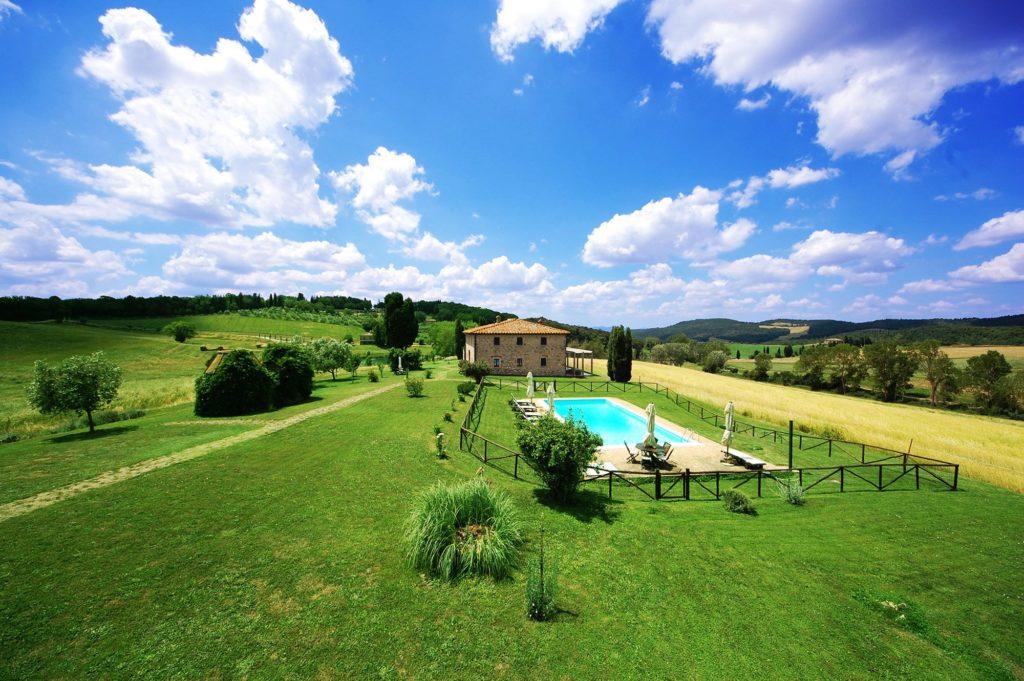 Affitto villa in toscana privata con piscina