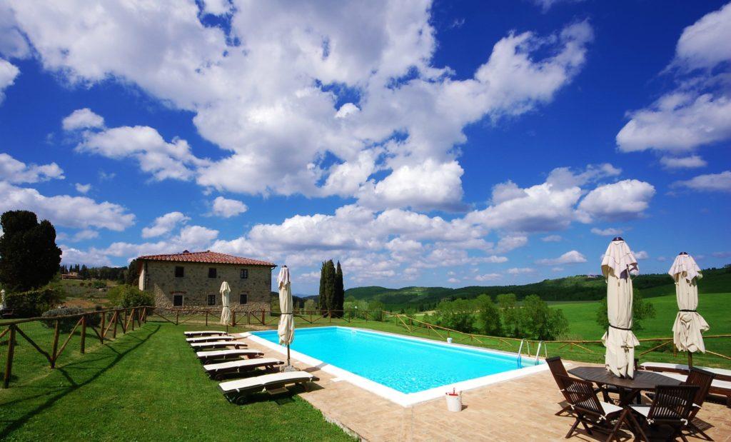 Villa Privata con piscina affitto in Toscana